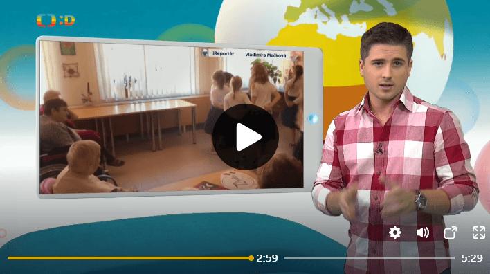 Zprávičky na Déčku a reportáž z naší účasti v projektu 72 hodin