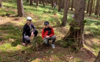 Cromagnonci si užívají učení v přírodě