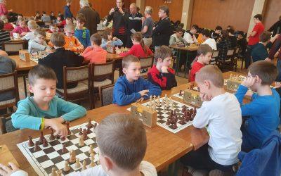 Okresní kolo šachového turnaje žáků