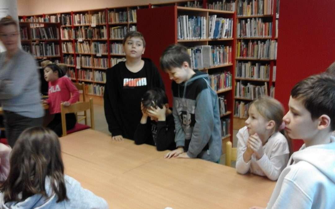4.A v městské knihovně
