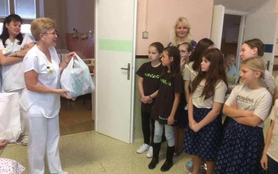 Vystoupení v nemocnici