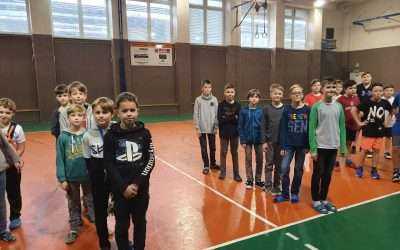 Novoroční turnaj ve florbalu